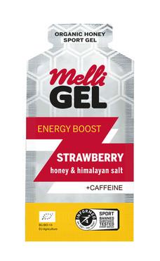 MelliGel Strawberry Organic Honey Sport Gel