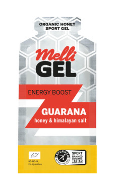 MelliGel Guarana Organic Honey Sport Gel