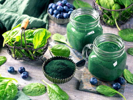 Get protein power for your sports life with Spirulina