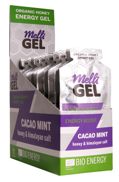 Melligel Cacao Mint Organic Honey Sport