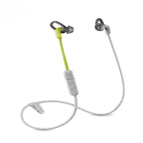 Backbeat Fit 305 Wireless Sweatproof Sport Earbuds Grey Lime