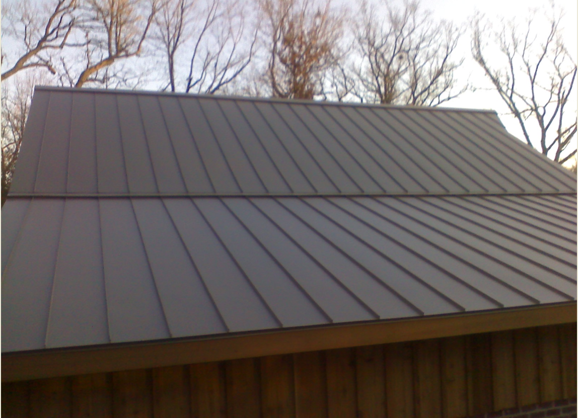 Sheet Metal Standing Seam Roofing
