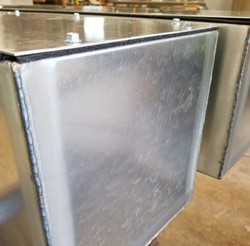 Cover Boxes-Welded Seams & Insulated Cov