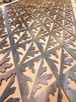 Leaf Panel - Waterjet Prov.Material