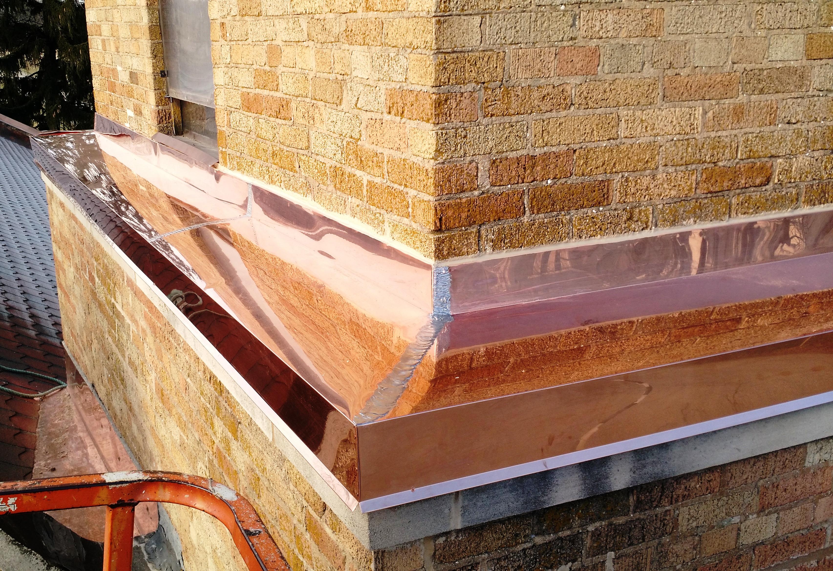 Copper & Soldered Seams 1