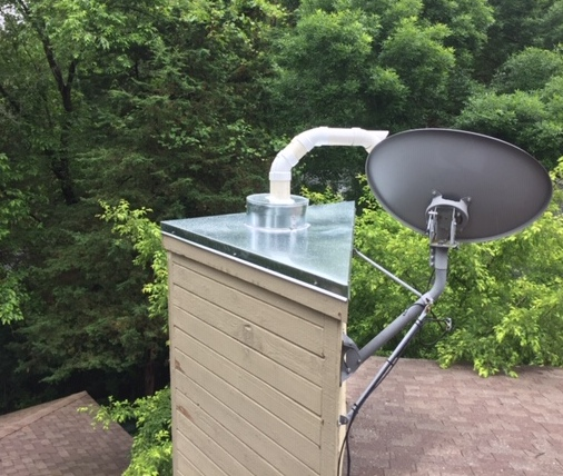 Chimney Cap Install Triangle