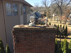 Chimney Cap Install-BEFORE