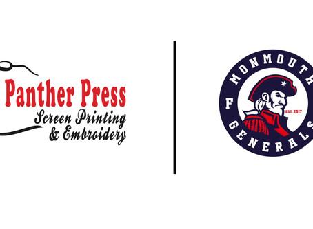 Panther Press Named Training Jersey Partner