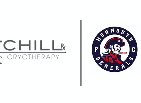 ChillRx Cryotherapy Unveiled As Sleeve Sponsor