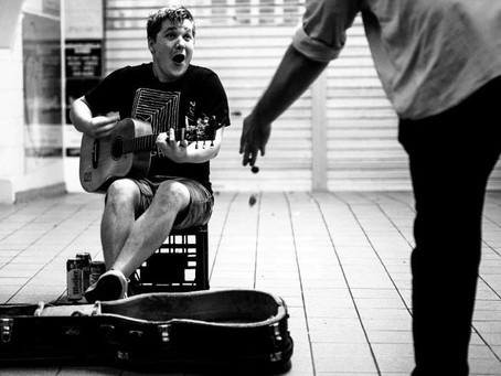 A Musician's Hustle.