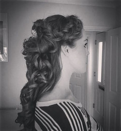 Ladt years Bridal trial #bride #hairstyle #hair #wedding #goldenoldie