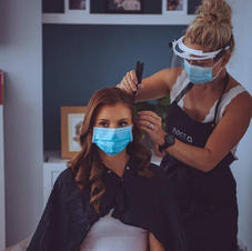 Emily and me Mid hair prep