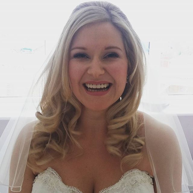 The most beautiful ray of sunshine! ! Happy wedding day Charlotte!! I'm so pleased you loved your ha