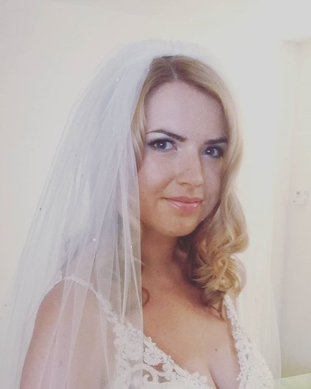 Saturdays bride #wedding #hairstyle #bride #hairdresser #northbrookpark #bride #surreystylist #weddi