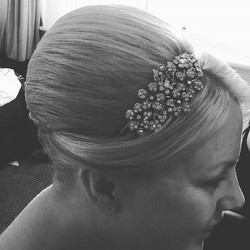 Fridays bride ,#wedding #bride #hairstyle