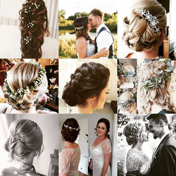 A few of my favorites of  my #bestyearever #2017 #wedding #weddinghairstylist #weddingideas #surreyw