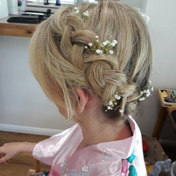 #briesmaids #braids #hairup #hairstyles #weddinghair #weddingideas