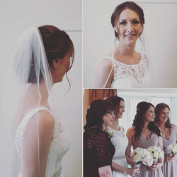 Today's lovely bridal party ♡♡ #weddingideas #weddinghair #weddinginspo #hairinspo #surrey #sussex #