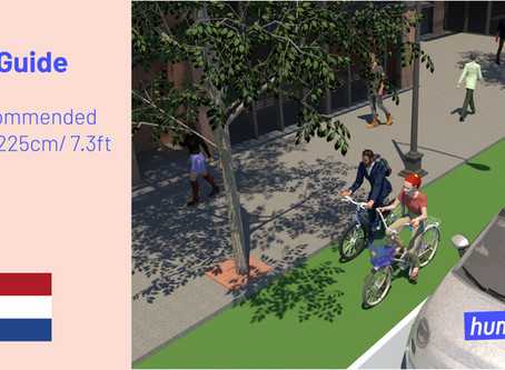 It's the Design Guide, Stupid – American vs. Dutch Cycling Infrastructure