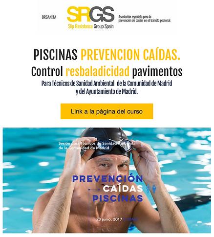SRGS, resbaladicidad, prevención, caídas, UNE 41901, UNE 41902, UNE-ENV 12633:2003