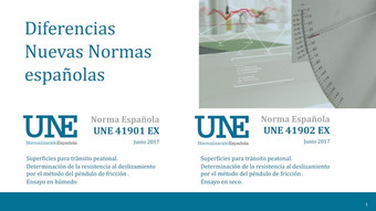 Diferencias básicas nuevas normas UNE 41901 2017 EX y UNE 41902 2017 EX