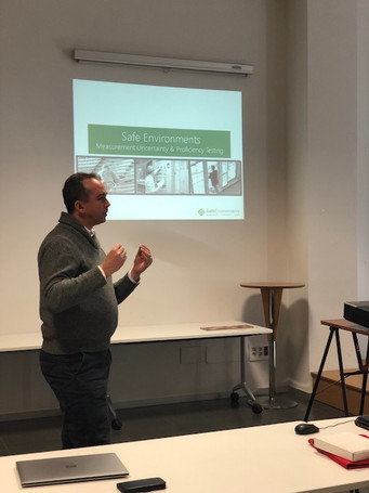 """Measurent uncertainty & Proficiency Testing"" Carl Strautins.Safe Enviroments (Austral"