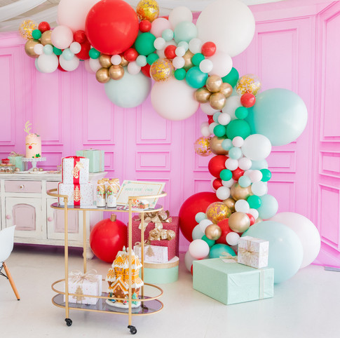 Balloon Garland created by Stylish Soirees Perth
