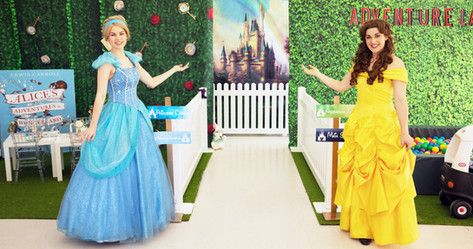 Welcome to our Disney Inspired Party