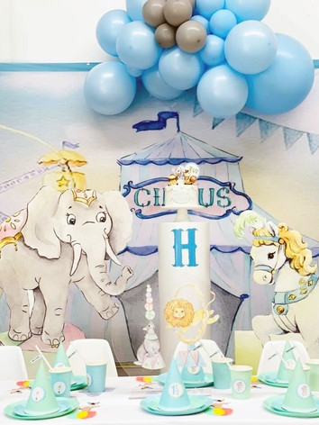 Pastel Circus Party