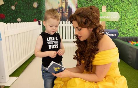 Meeting the Princess Rose