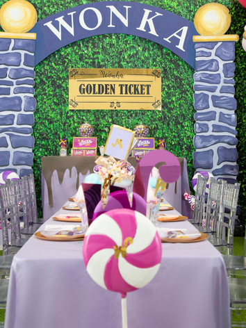 Wonka Inspired Party
