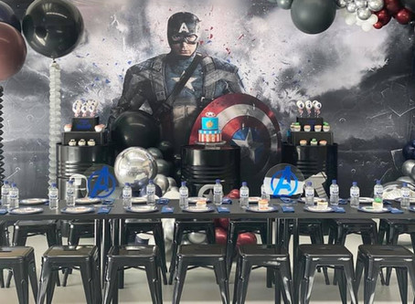 A Modern Avengers and Captain America Party