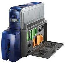 Entrust Datacard SD460 Duplex PVC Card Printer with Inline Card Laminator & Tactile Impression Module