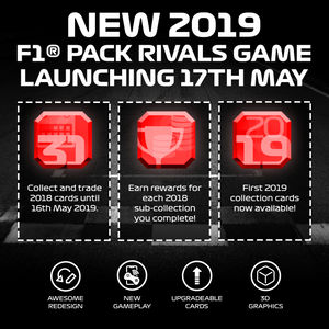 F1® Pack Rivals 2019 is Coming!