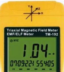 medidor de campo magnetico