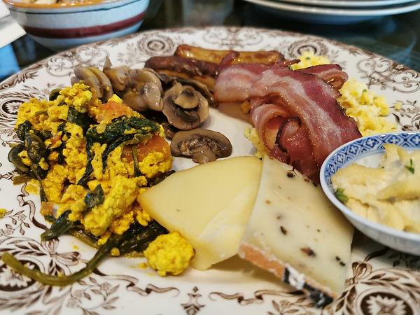 PastaOaseBrunch Buffet leckerer Teller.j