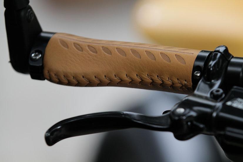 Leather Grips - Dark Giallo
