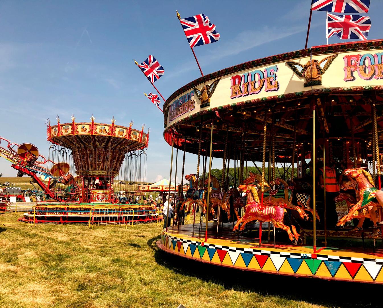 The Fair at Wiston Steam Rally