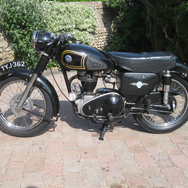 AJS_350MS_1956 Photo By Colin Pennifold