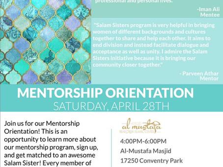 Taiba Mentorship Orientation (4/28)