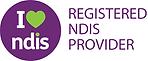 NDIS Registrered logo