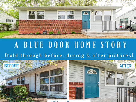 [Before & After] A Blue Door Home Story