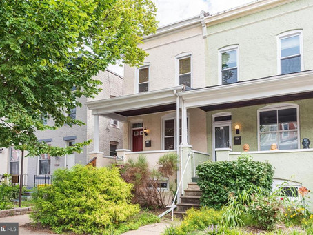 Well-kept Hampden/Wyman Park end-unit townhome For Sale | 3625 Keswick Rd, Baltimore, MD 21211