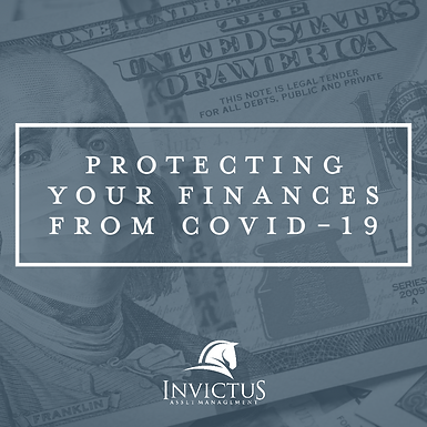 Protecting Your Finances From COVID-19