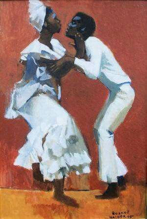 Dancing Couple by Boscoe Holder (1921-20