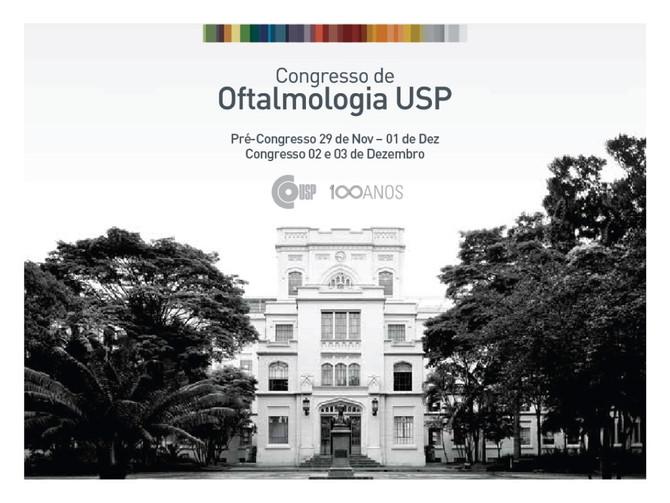 Congresso Oftalmologia USP 2016 – 100 anos
