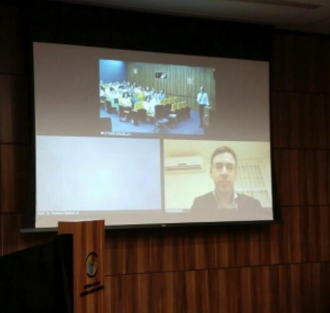 """Videoconferência sobre """"Neurite Óptica atípica"""" no Hospital de Olhos Sadalla A. Ghanem"""