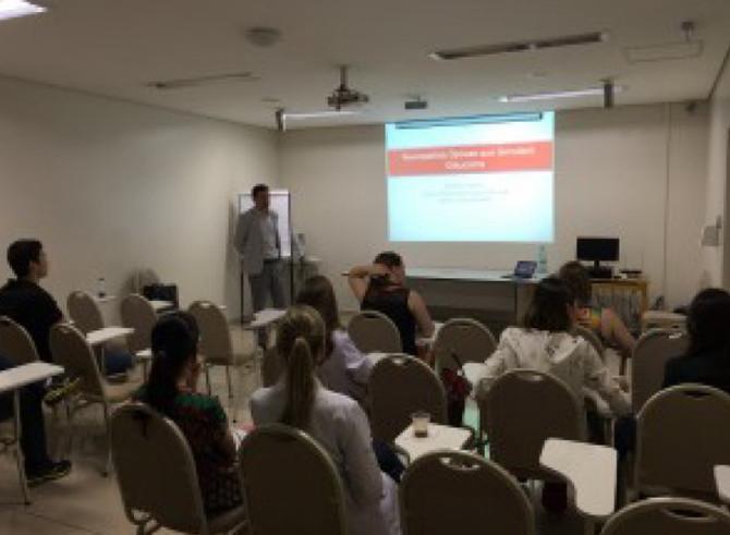 Dr. Frederico Moura confere palestras no Hospital de Olhos de Londrina (HOFTALON)