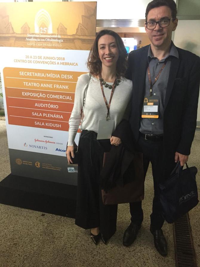 SIMPOSIO INTERNACIONAL DE OFTALMOLOGIA DA SANTA CASA DE SÃO PAULO - 2018