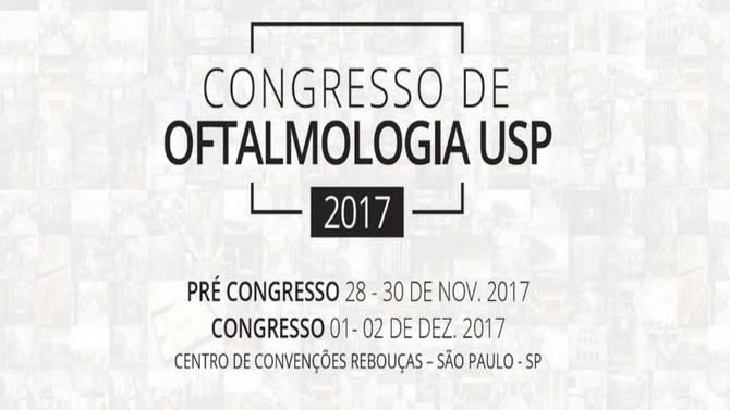 Congresso de Oftalmologia USP - 2017